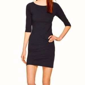 Aritzia Babaton Madden Black Dress Size Medium